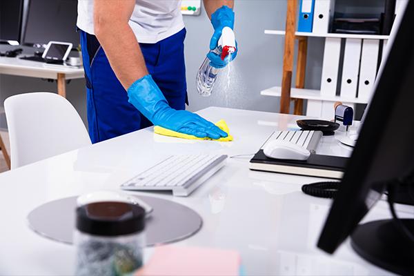 Clean_Office Wipe Down