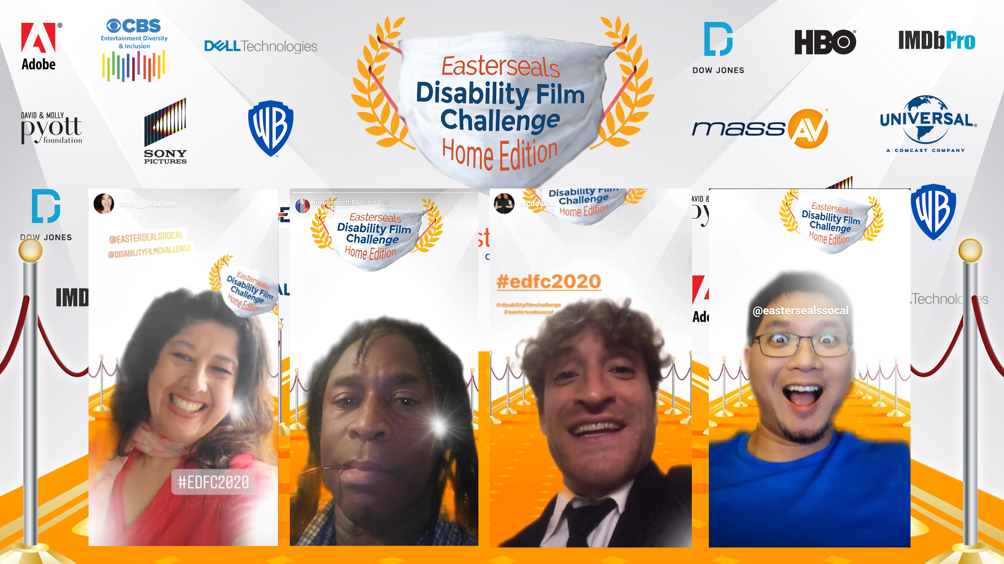 EasterSeals Orange Carpet_example