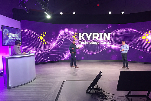 Kyrin Virtual Event Stage