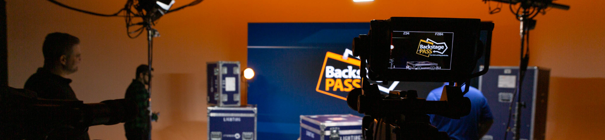 Backstage Pass Video Banner
